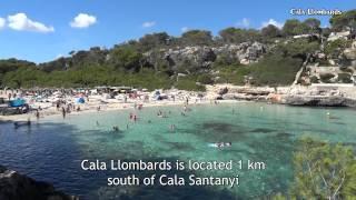 Mallorca Guide - Cala Santanyi - Cala Llombards - Es Trenc