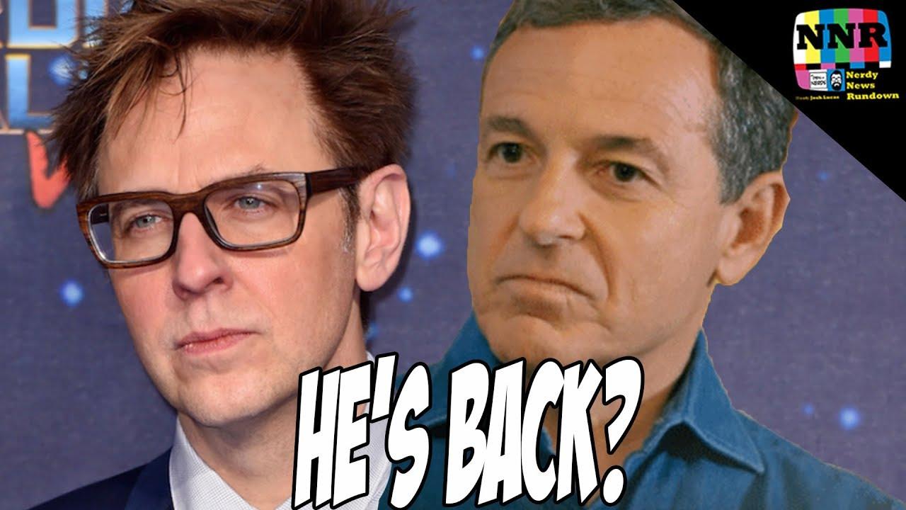 James Gunn Tweets: Is Disney REALLY Rehiring Him? NEW INFO