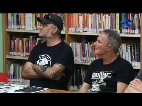 Mierda de Bizkaia y sus grupos Punks Maqueteros 77 89 liburua aurkeztu dute da