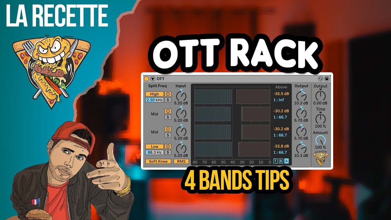 Avoir on OTT 4 BAND sur ABLETOn ( + RACK ABLETON )