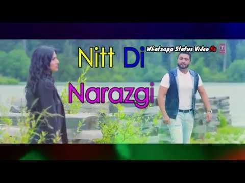 Nitt Di Narazgi Teri | New Whatsapp Video Status | 2018 Romatic Status Video | Love Story 2018