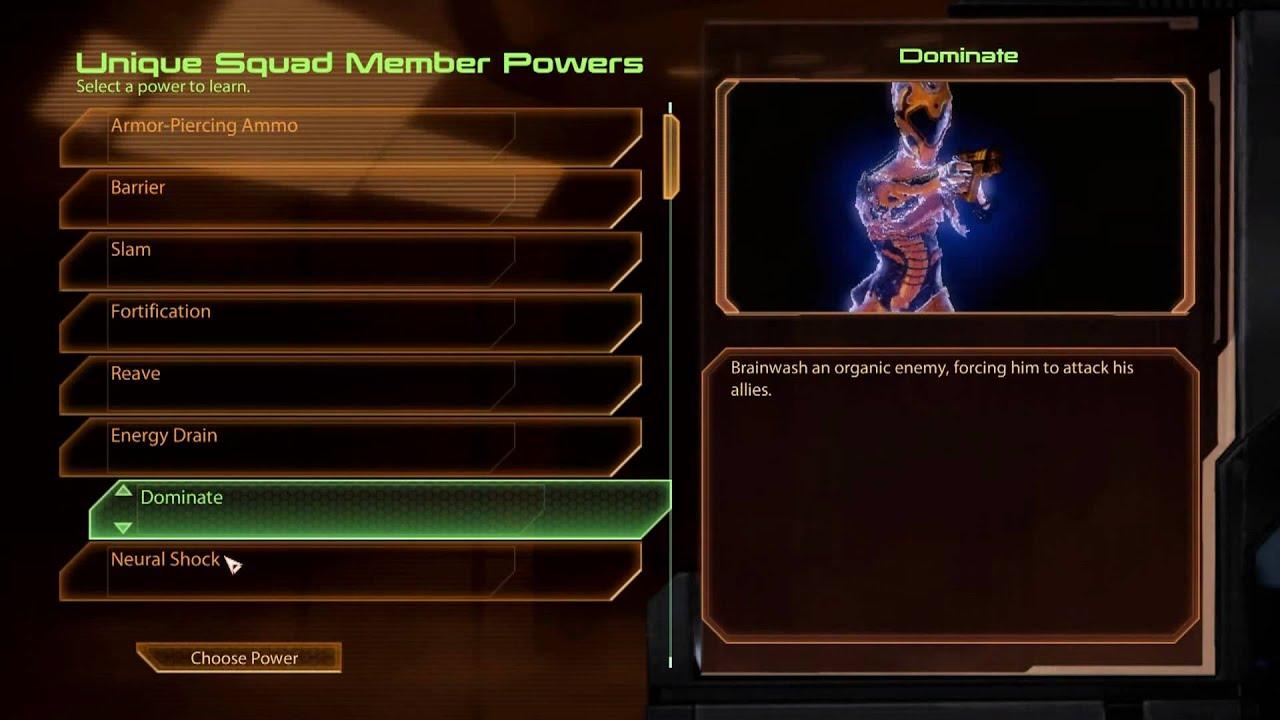 [HD] Mass Effect 2 - Infinite Powers Points Trick
