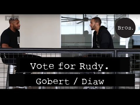 RUDY GOBERT & BORIS DIAW - Vote for Rudy - La Campagne avant le All Star Game