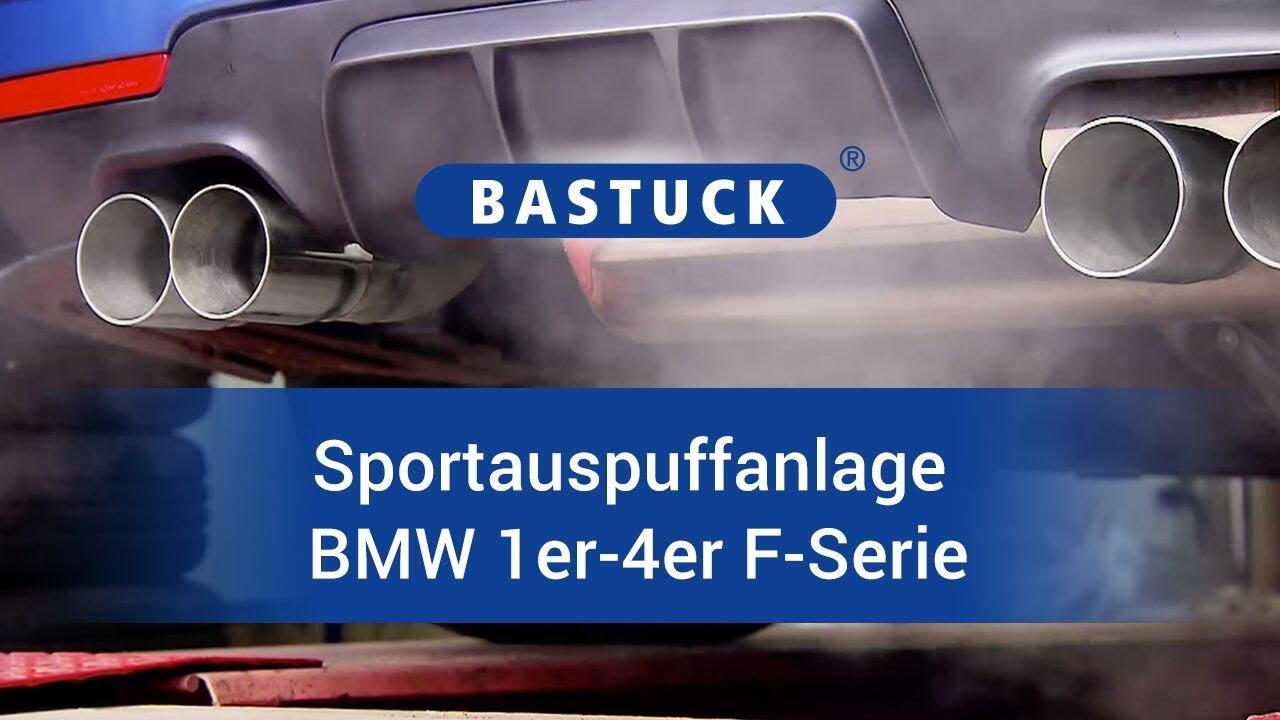 Bastuck Sportauspuffanlage Bmw 1 4er F Serie Youtube