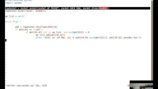 [Hack of the Day Episode 10] Wi-Fi SSID Sniffer in 11 Lines of Python using Raw Sockets