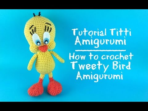 Amigurumi Tweety Bird : Tutorial: Minion Amigurumi Tutorial: how to crochet a ...