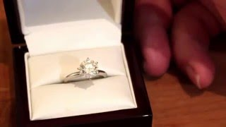 Buying an engagement ring online is a great decision (Blue Nile vs Tiffany & Co)