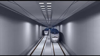 UNDERWATER - TUNNEL - RAILWAY