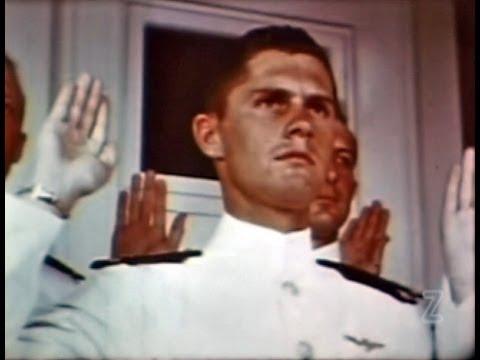US Naval Aviation Cadet - 1942 - Restored Color