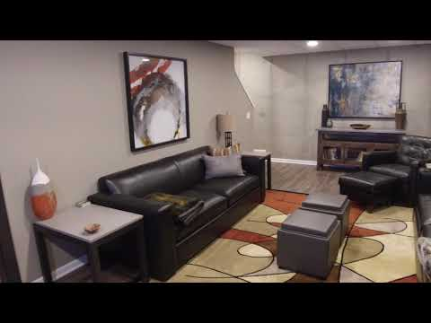 Brighton, MI | Finished Basement Walk Through