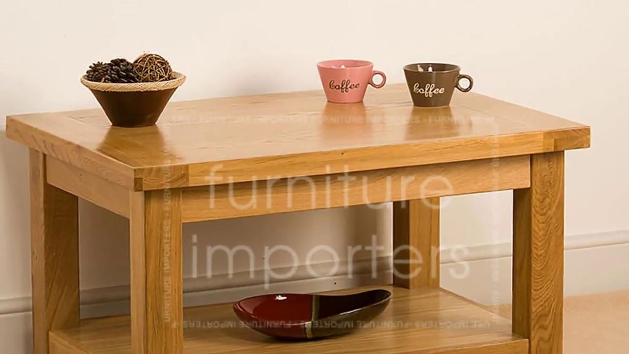 Large Square Oak Coffee Table Uk Designs