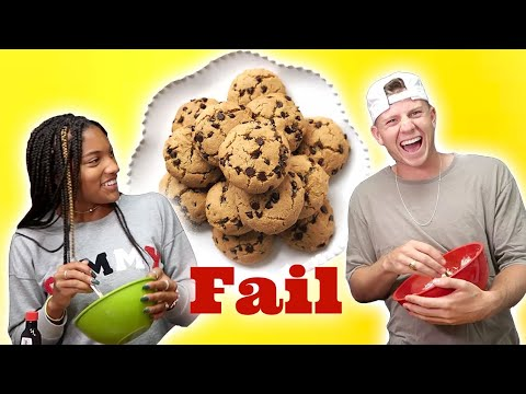Couples Try Cooking Without Recipes *fail* // Tara and Hunter