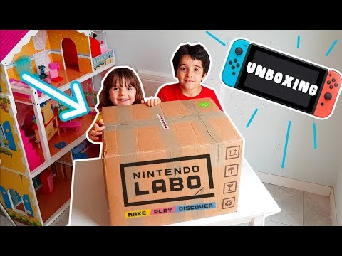 Unboxing a sorpresa Nintendo Switch e Nintendo Labo!!!