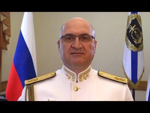 Командующий Черноморским флотом поздравил севастопольцев с Днём ВМФ