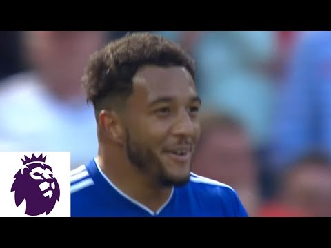 Mendez-Laing's Penalty Kick gives Cardiff City lead over Man United | Premier League | NBC Sports