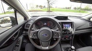 2018 Subaru Crosstrek 2.0i Premium 6-Speed Manual - POV Driving Impressions (Binaural Audio)
