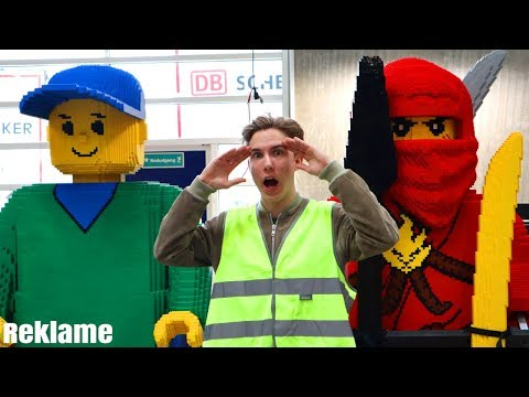 VI BESØGER LEGO! - Dansk Vlog