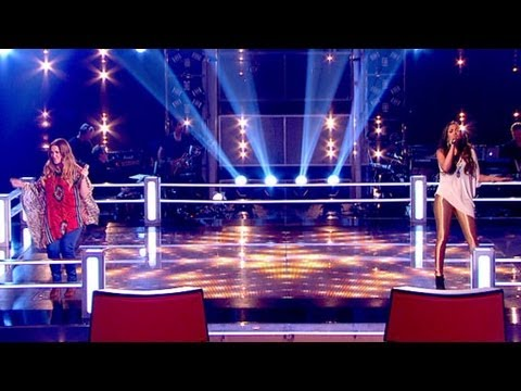 The Voice UK 2013 | Abi Sampa Vs Laura Oakes: Battle Performance - Battle Rounds 3 - BBC One