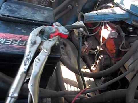k10 starter replacement for no reason youtube rh youtube com 80 Chevy Starter Wiring Diagram GM Starter Solenoid Wiring Diagram