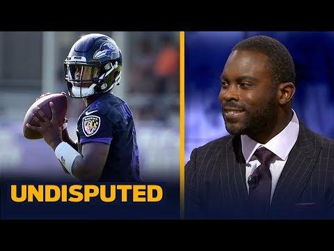 Lamar Jackson can't run like last year, improving as a passer is vital — Vick | NFL | UNDISPUTED
