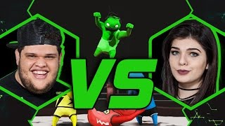 EDUKOF VS ELLEN SIMILI | GANG BEASTS | BATALHA #21 | #MTVLOGBR
