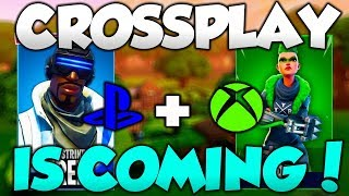 Fortnite CROSSPLAY Xbox & PS4 - Fortnite Cross Platform Xbox, PS4 & Switch CONFIRMED!
