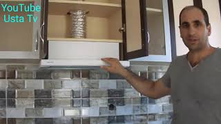 Mutfak Aspiratörü Montajı Nasıl Yapılır.