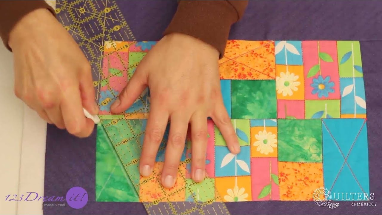 Quilt placemat - Tutorial - YouTube : quilted placemat pattern - Adamdwight.com