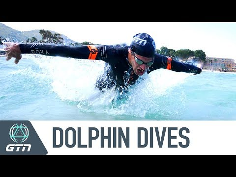 How To Do Dolphin Dives | Open Water Swim Entrance And Exit