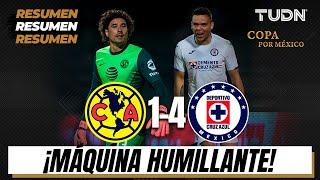 Resumen y goles | América 14 Cruz Azul | Copa por México | TUDN
