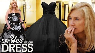 🔴 Conservative Mother Disapproves of Black Wedding Dress | Say Yes To The Dress Atlanta