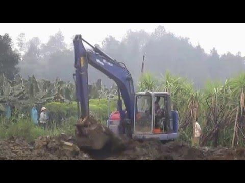 excavator working trials