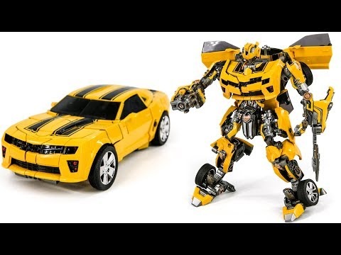 Transformers Battle Bumblebee OverSized Ko Weijiang M03 Battle Hornet Vehicle Car Robot Toys