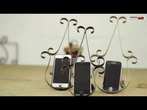 Mobile Phone Holder, Make Your Own, metalcraft uk