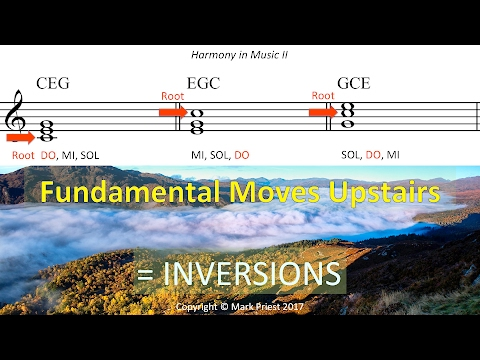 Four-Part Writing Rules: Inversions, Part I - Harmony II, 01