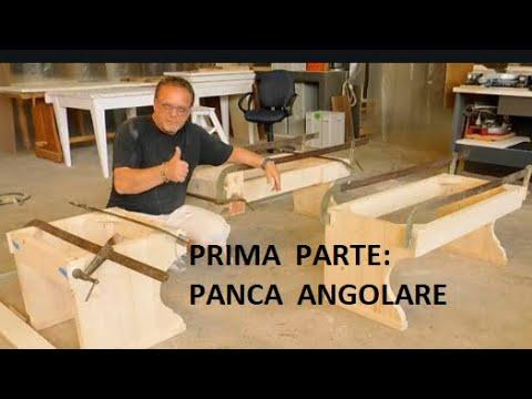 Panche Legno Ad Angolo.Prima Parte Panca Angolare In Abete Giropanca Wood Legno Diy