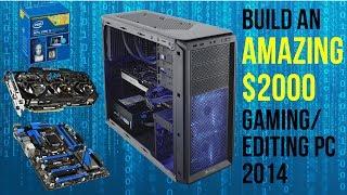 build an amazing 2000 4k gaming editing pc july 2014 i5 4690k gtx 780 ti dual sli
