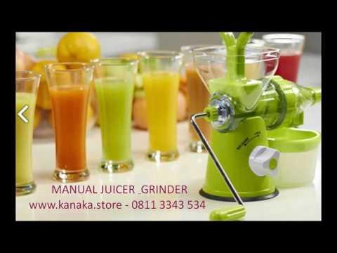 KANAKA STORE : MANUAL JUICER Bebas Biaya Listrik Kualitas Juice Juga Prima