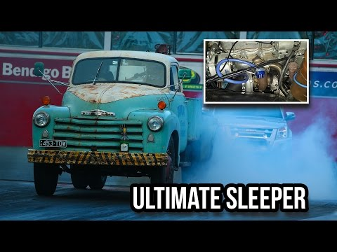 ULTIMATE SLEEPER -  DETROIT DIESEL TURBO TOW TRUCK AT DIESEL ASSAULT THEME NIGHT