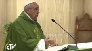 """""""Il corrotto porta da mangiare ai suoi figli pane sporco!"""". Omelia di Papa Francesco dell"""