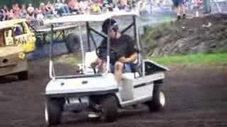 golf cart with hayabusa engine donut gone wrong pruts en knutselrace pk weekend