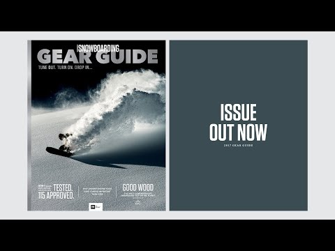 Issue Out Now: 2017 TransWorld SNOWboarding Gear Guide