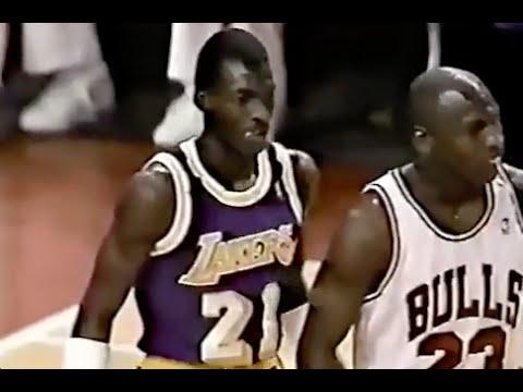 Michael Cooper Defense on Michael Jordan - 1989/90 Season