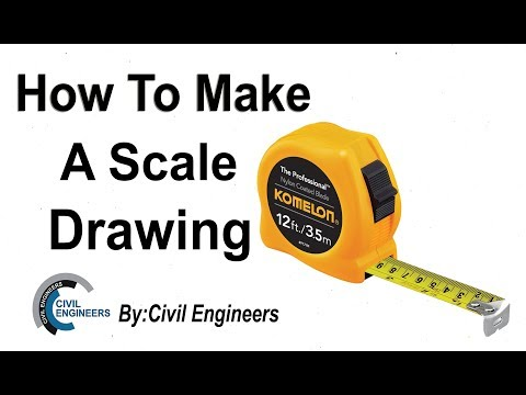How To Make A Scale Drawing in Engineering.