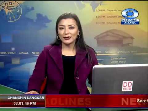 DDK Aizawl, 9th November, 2018. 03:00pm NEWS