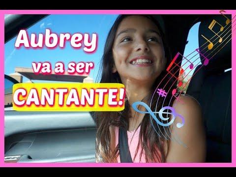 AUBREY VA A SER CANTANTE FAMOSA!! - Vlogs diarios - Jackie Hernandez