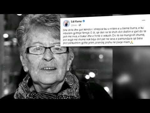 Top News - Shuhet Aneta Rama/ Nëna e kryeministrit ishte 82 vjeç