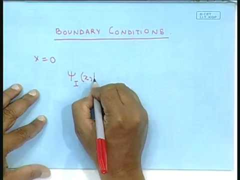 Lecture - 43  Quantum Tunneling