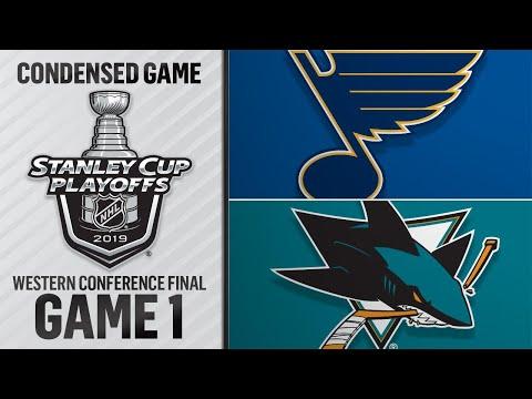 05/11/19 WCF, Gm1: Blues @ Sharks