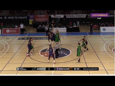 U18 - JOVENTUT vs FC BARCELONA.- Final EB ADIDAS NEXT GENERATION TOURNAMENT L'Hospitalet 2018